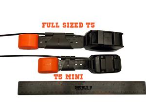 T5 and T5 Mini Size comparison