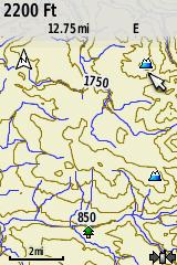 Pre Installed Topo Map The Garmin
